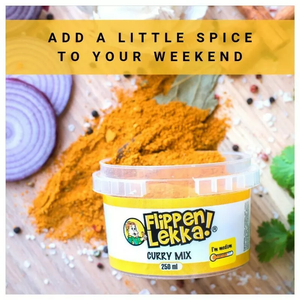 Flippen Lekka Curry Mix Tub 250ml - The South African Spaza Shop