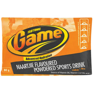 Game Powdered Sports Drink Naartjie 80g - The South African Spaza Shop