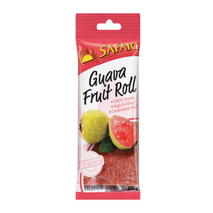 Safari Guava Fruit Roll 80g - The South African Spaza Shop