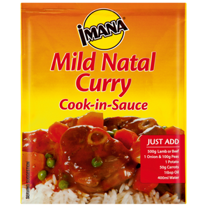 Imana Cook in Sauce Mild Natal Curry 48g - The South African Spaza Shop