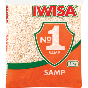 Iwisa Samp 1kg - The South African Spaza Shop
