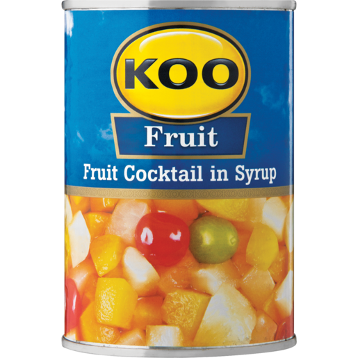 Koo Fruit Cocktail 410g - The South African Spaza Shop