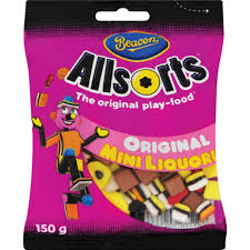 Beacon Liquorice Allsorts Mini 150g - The South African Spaza Shop