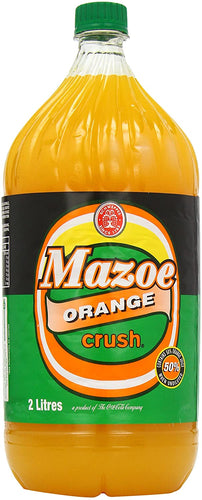 Mazoe Orange Crush 2L - The South African Spaza Shop