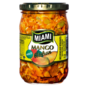 Miami Mango Atchar Mild 400g - The South African Spaza Shop