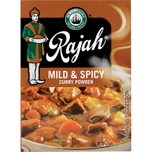 Rajah Mild & Spicy Curry Powder 100g - The South African Spaza Shop