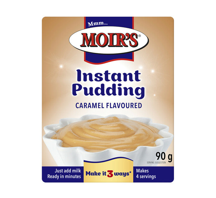 Moirs Instant Pudding Caramel 90g - The South African Spaza Shop