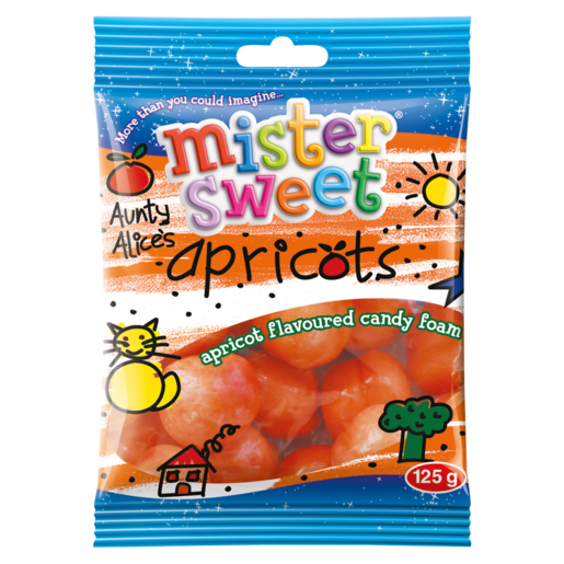 Mister Sweet Aunty Alices Apricots 125g - The South African Spaza Shop