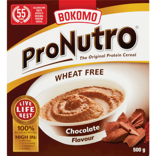 Bokomo ProNutro Chocolate 500g - The South African Spaza Shop