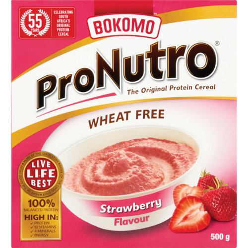 Bokomo ProNutro Strawberry 500g - The South African Spaza Shop