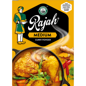 Rajah Medium Curry Powder 100g - The South African Spaza Shop