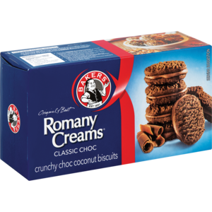 Bakers Romany Creams Classic Choc 200g - The South African Spaza Shop