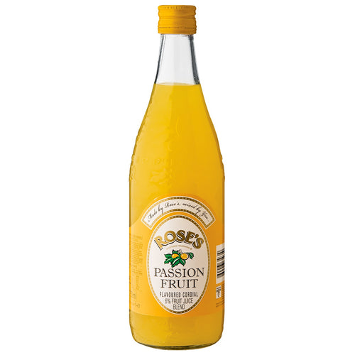Roses Passion Fruit Cordial 750ml - The South African Spaza Shop