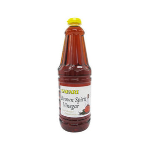 Safari Brown Spirit Vinegar 750ml - The South African Spaza Shop