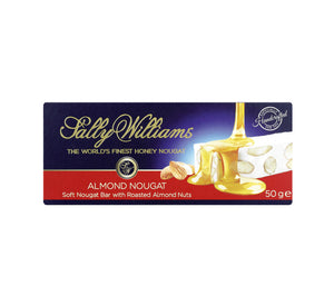 Sally Williams Almond Nougat Bar 50g - The South African Spaza Shop