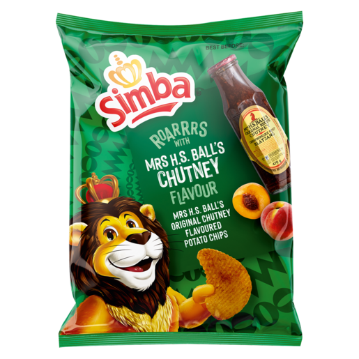 Simba Chips Mrs Balls Chutney 125g - The South African Spaza Shop