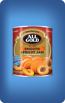 All Gold Apricot Jam Smooth 450g - The South African Spaza Shop