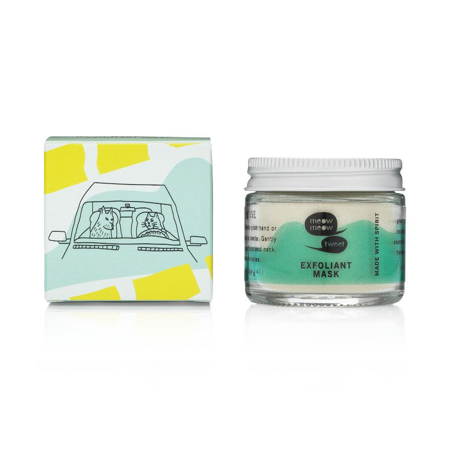 Meow Meow Tweet - Matcha Lime Exfoliant Mask