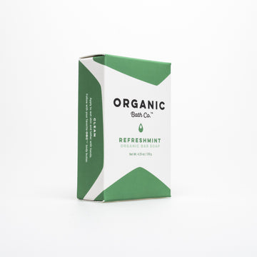 Organic Bath Co. - RefreshMint Bar Soap