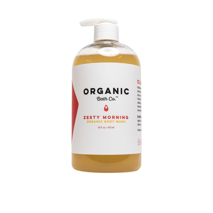 Organic Bath Co. - Zesty Morning Organic Body Wash