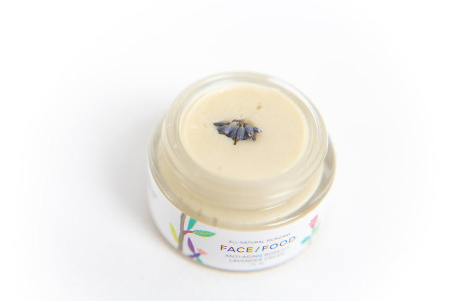 Face Food - Anti-Aging Rosehip Lavender Cream
