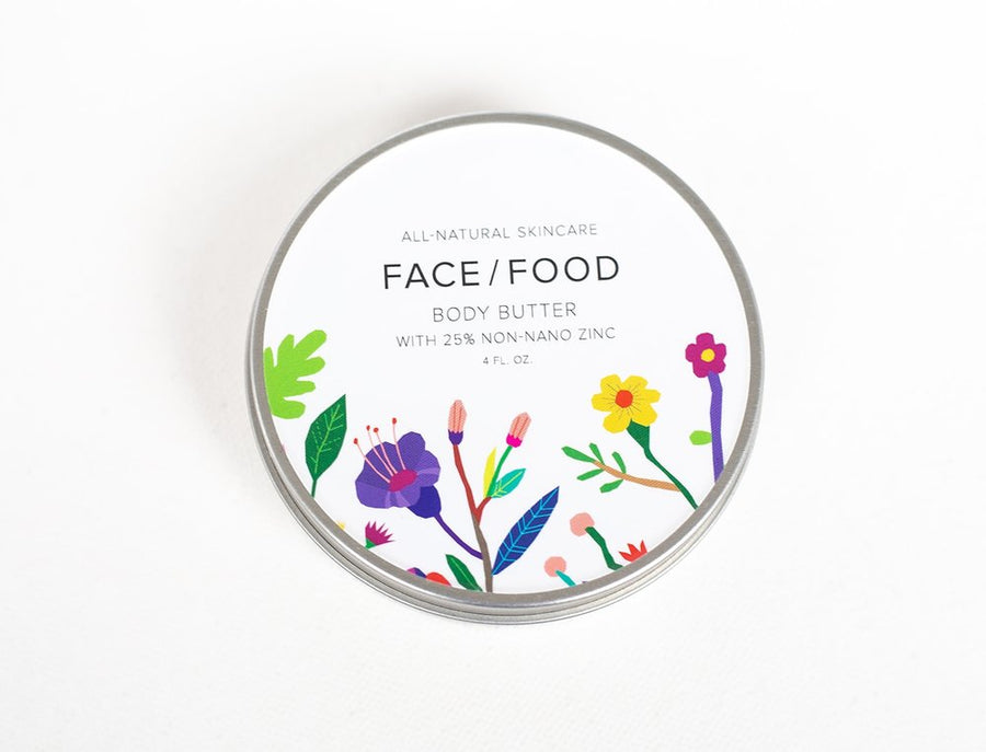 Face Food - Body Butter with 25% Non-nano Zinc (SPF 25)