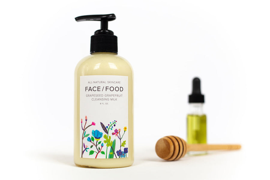 Face Food - Grapeseed Grapefruit Cleansing Milk