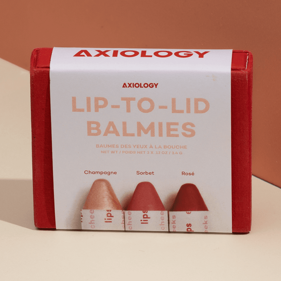Axiology Beauty - Lip-to-Lid Balmie Trios