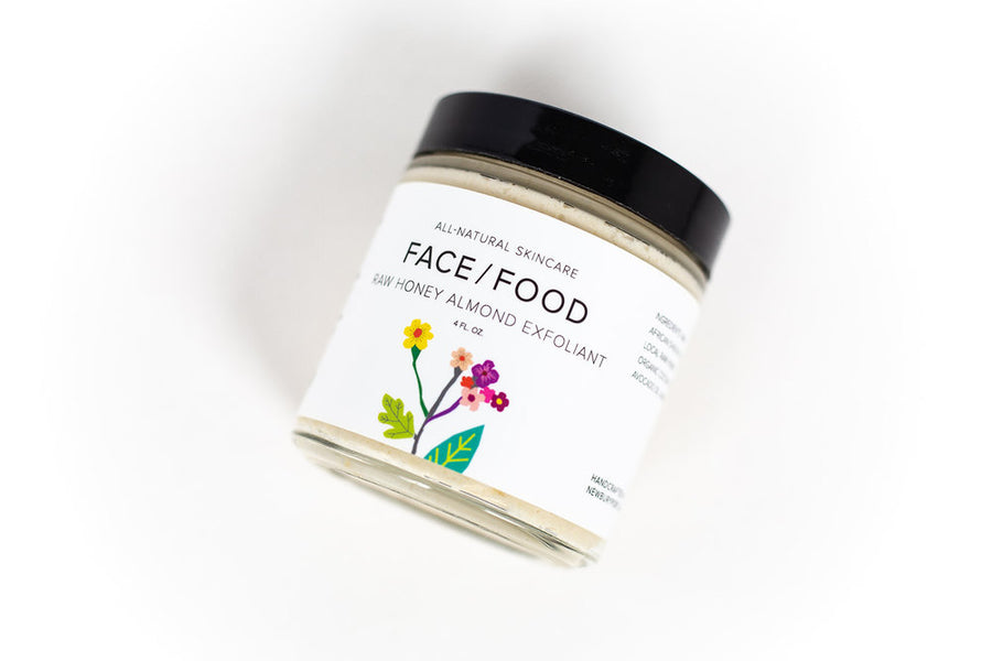 Face Food - Raw Honey Almond Exfoliant