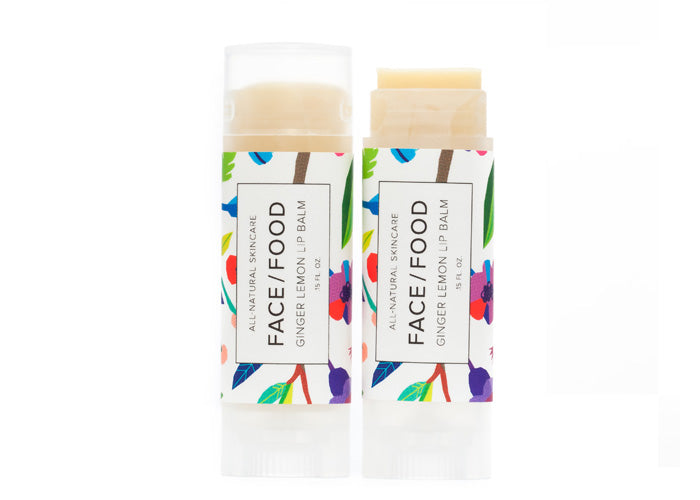 Face Food - Ginger Lemon Lip Balm