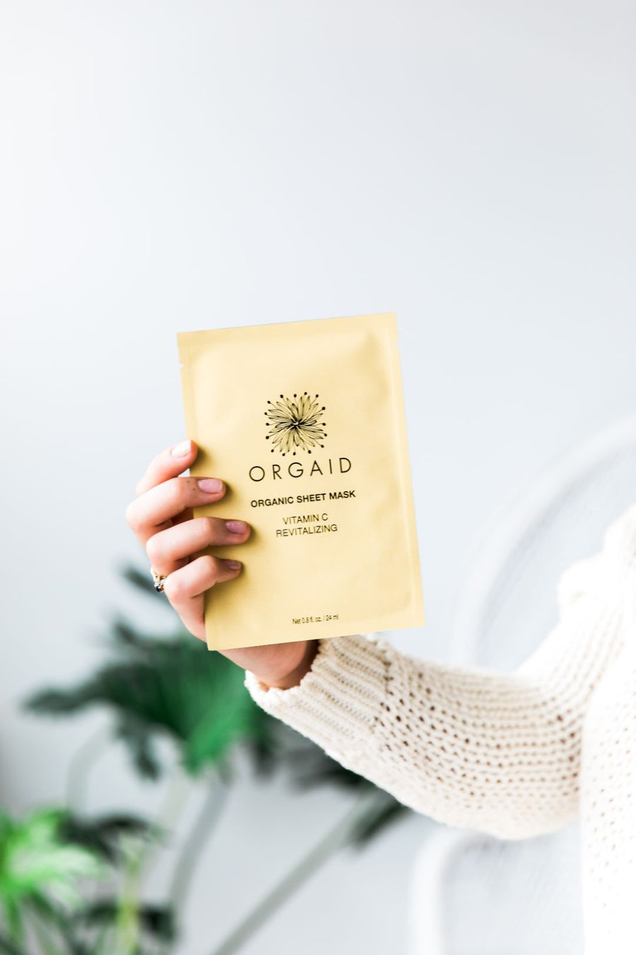 Orgaid - ORGANIC SHEET MASK | VITAMIN C & REVITALIZING