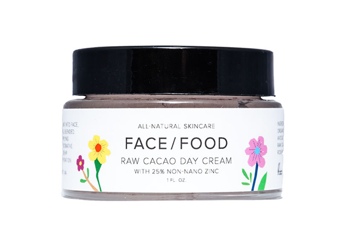 Face Food - Raw Cacao Day Cream with 25% Non-nano Zinc