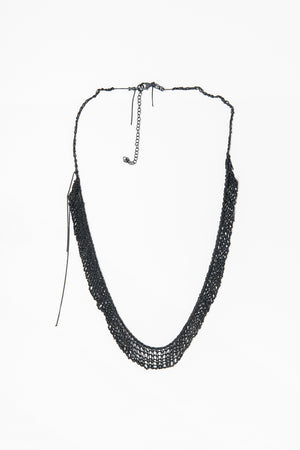 100 Black necklace