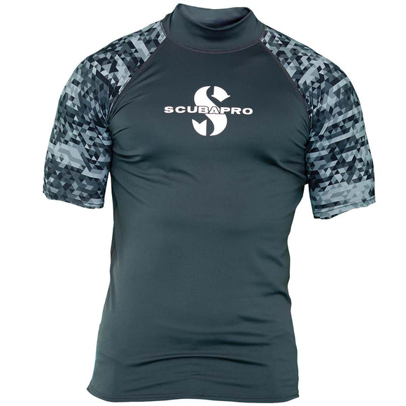 Rash Guard Short Sleeve UPF 50, Men