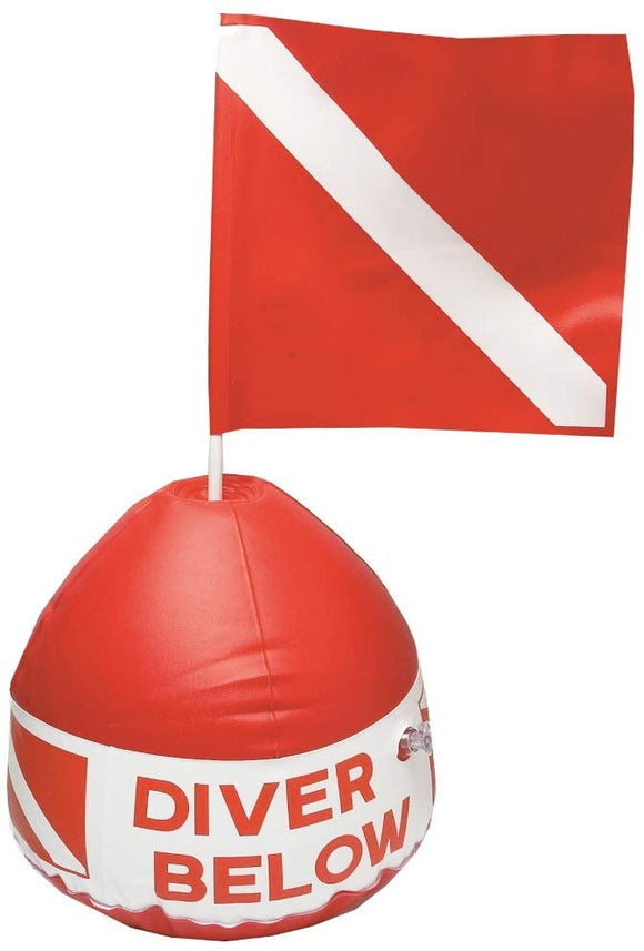 Diver Below Flag Buoy