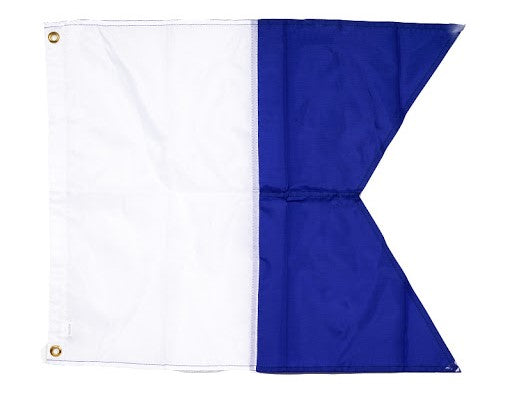 Nylon Scuba Dive Flag