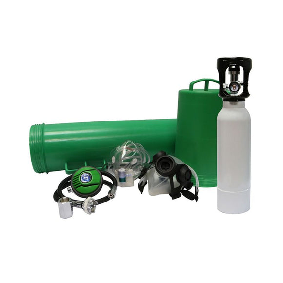 Oxygen Rescue Tank Complete Kit