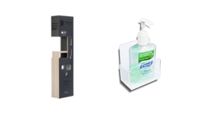 SaniPro Stations Vs. Regular Sanitiser Bottles