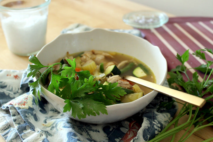 featured image: Branch Basics Chicken Soup with Bone Broth