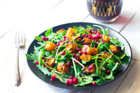 Wintertime Arugula and Roasted Butternut Squash Salad