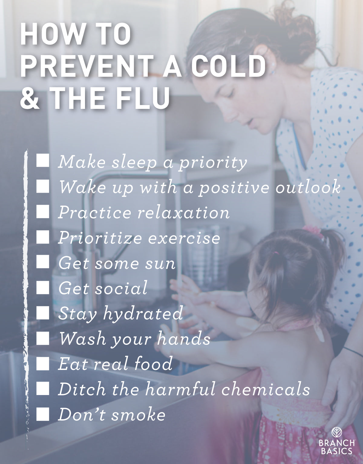 Branch Basics Sensible and Modern Cold and Flu Prevention Tips