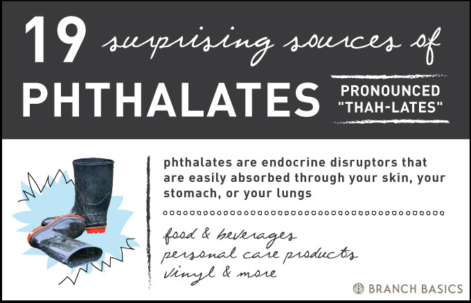 Branch Basics | Common Household Chemicals to Avoid: Phthalates