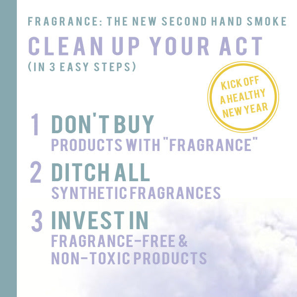 Clean Up Your Act Branch Basics: Fragrance is the New Secondhand Smoke