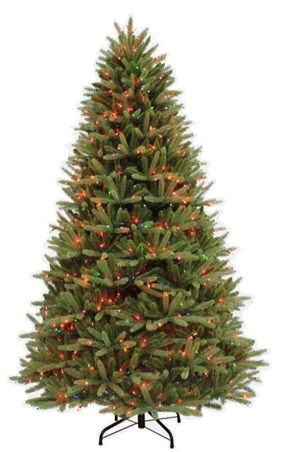 7.5' Ultra-Lit Ridgewood Fir Multi