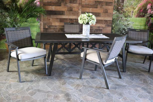 ADDISON 5 PIECE DINING SET - 42