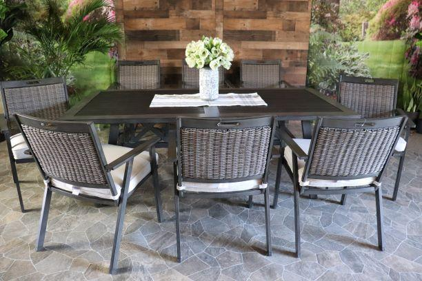 ADDISON 9 PIECE DINING SET - 42