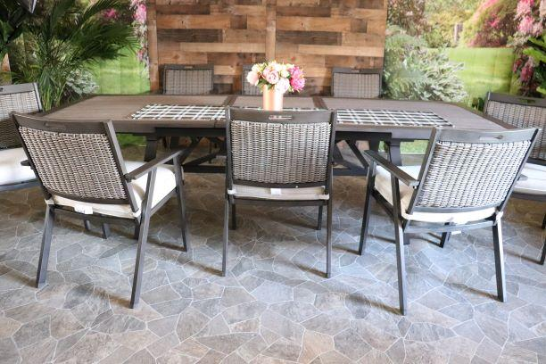 CAYMAN 9 PIECE DINING SET - 40