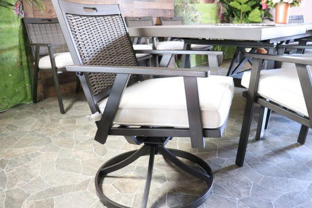 Cayman Swivel Dining Chair