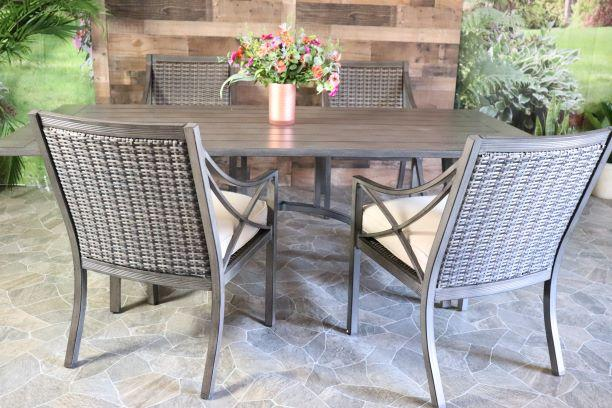 METROPOLITAN 5 PIECE DINING SET - 42