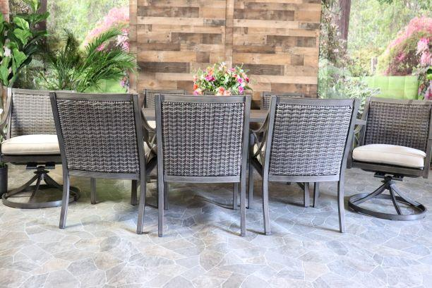 METROPOLITAN 9 PIECE DINING SET - 42